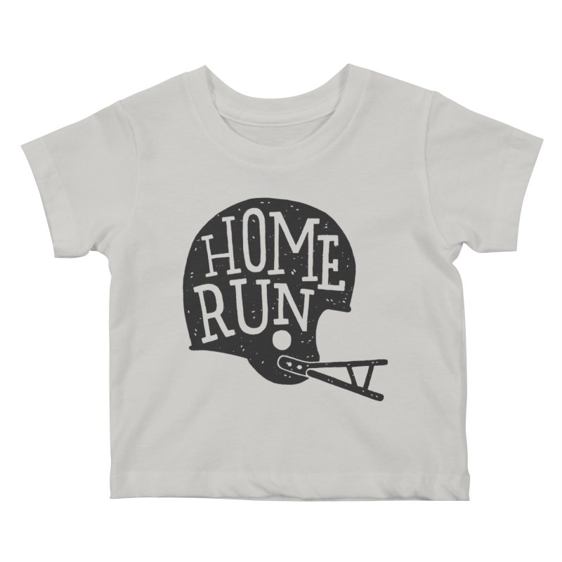 Home Run Kids Baby T-Shirt by Rupertbeard
