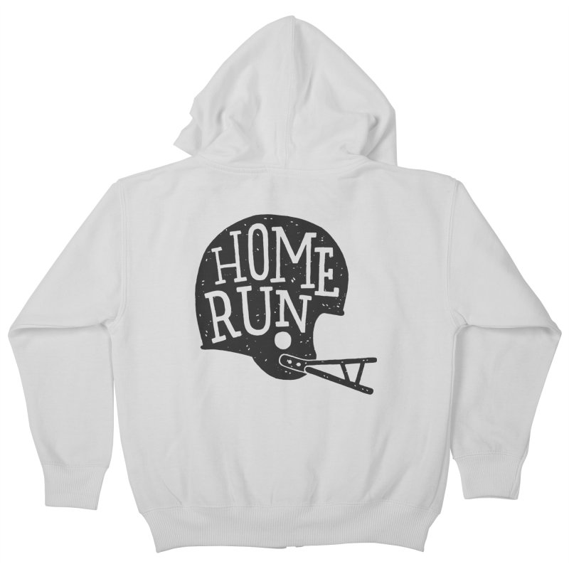 Home Run Kids Zip-Up Hoody by Rupertbeard