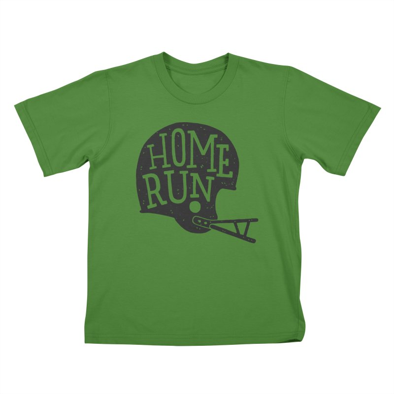 Home Run Kids T-Shirt by Rupertbeard