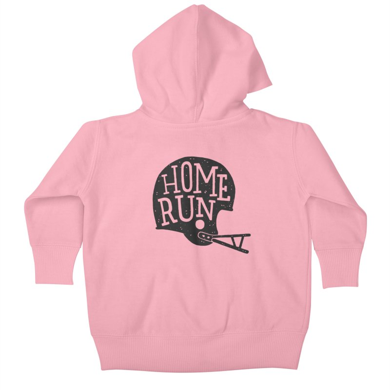 Home Run Kids Baby Zip-Up Hoody by Rupertbeard