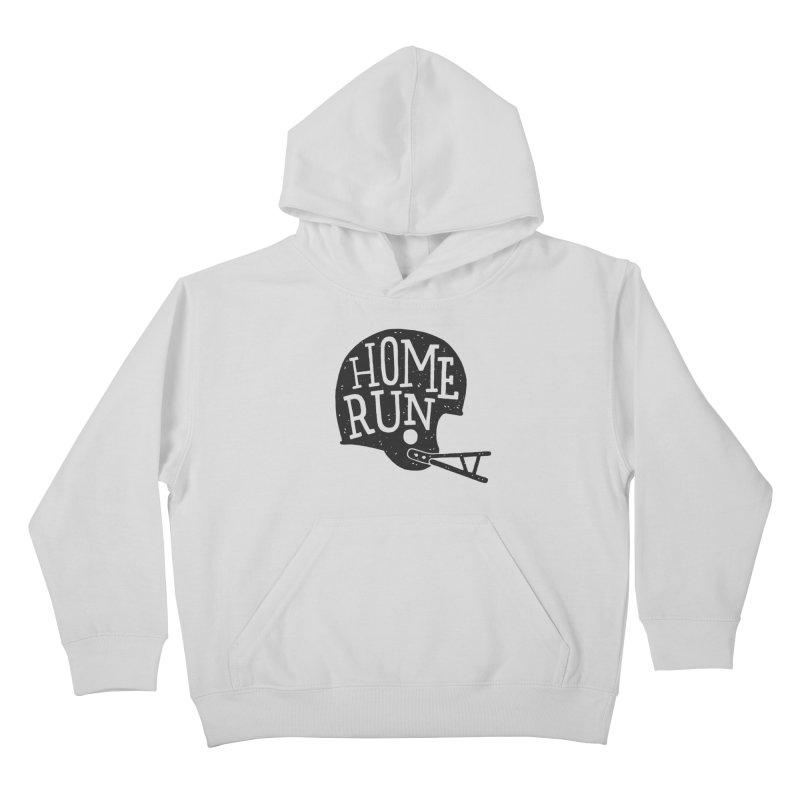 Home Run Kids Pullover Hoody by Rupertbeard