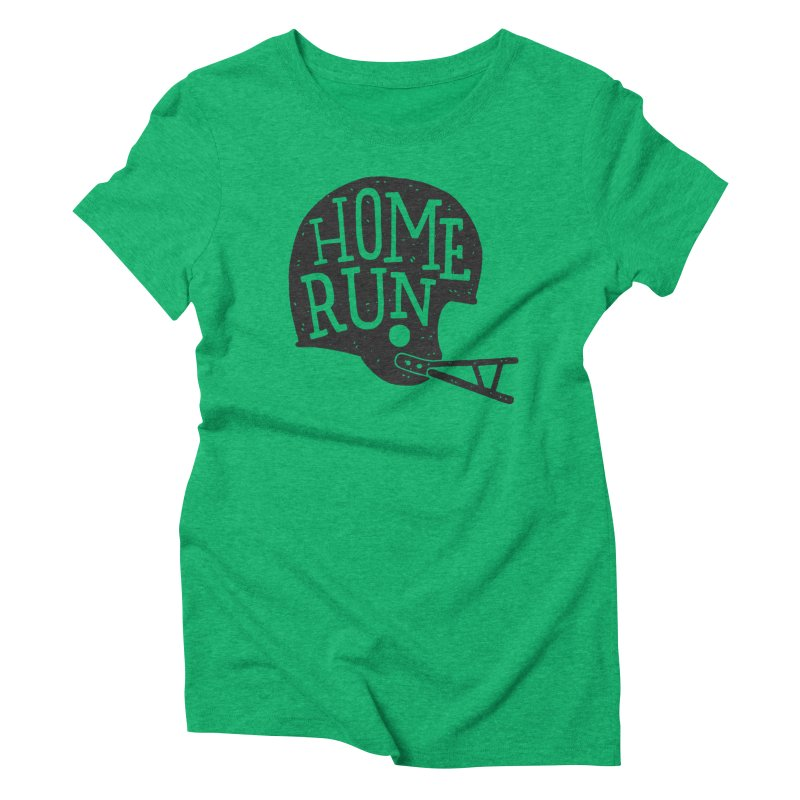 Home Run Women's Triblend T-Shirt by Rupertbeard