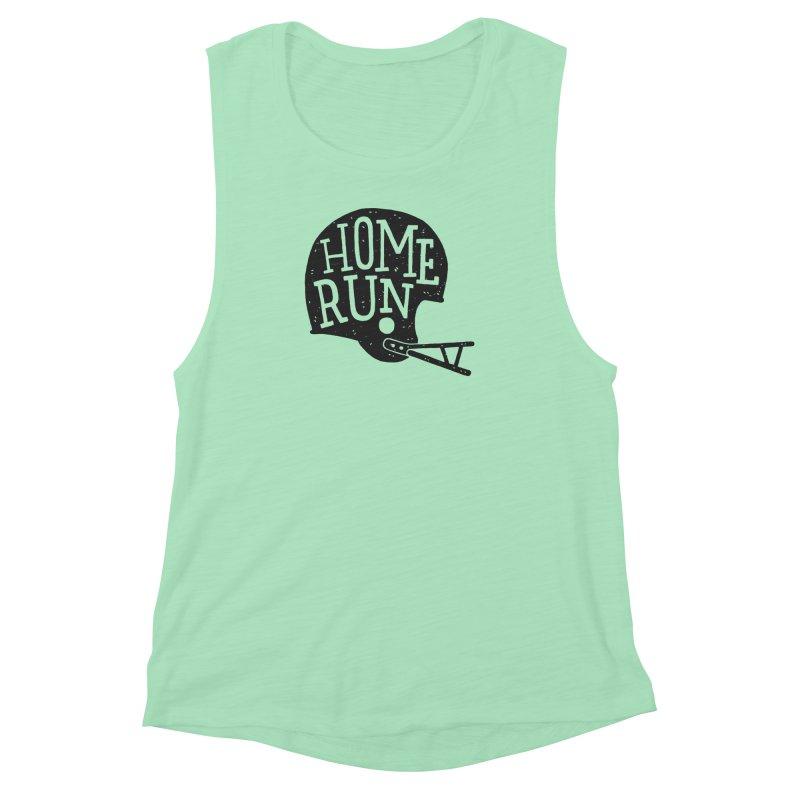 Home Run Women's Muscle Tank by Rupertbeard