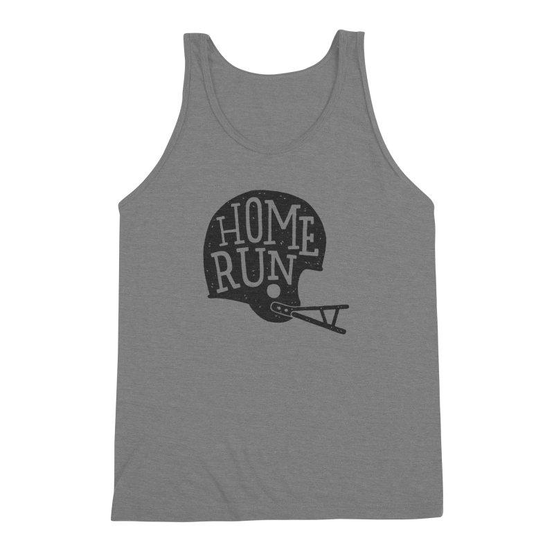Home Run Men's Triblend Tank by Rupertbeard