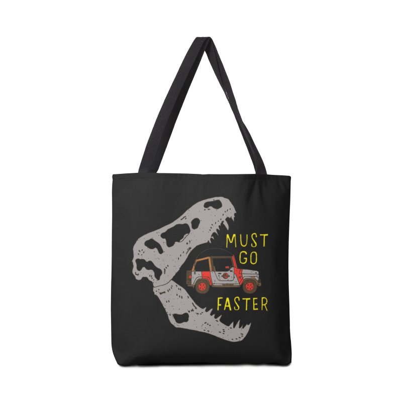 Must Go Faster Accessories Bag by Rupertbeard