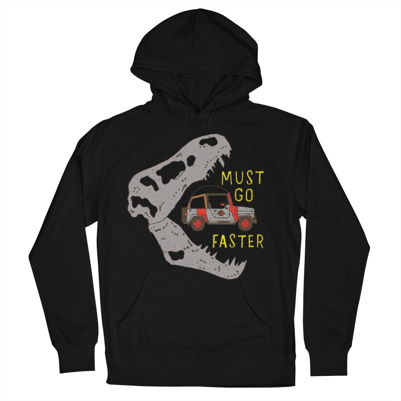 Must Go Faster Men's Pullover Hoody by Rupertbeard
