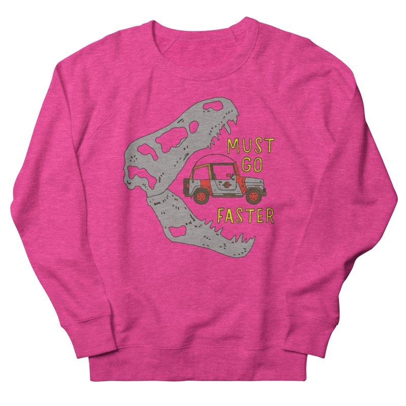 Must Go Faster Women's Sweatshirt by Rupertbeard