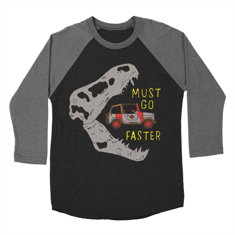Must Go Faster Women's Baseball Triblend T-Shirt by Rupertbeard