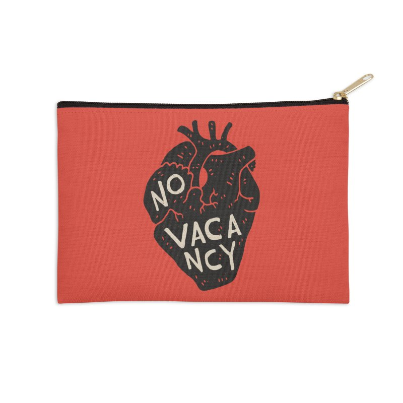 No Vacancy Accessories Zip Pouch by Rupertbeard