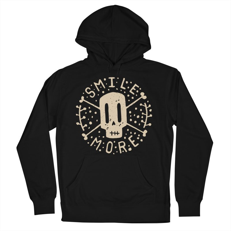 Smile More Men's Pullover Hoody by Rupertbeard
