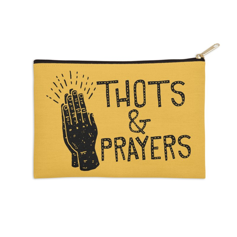Thots & Prayers Accessories Zip Pouch by Rupertbeard