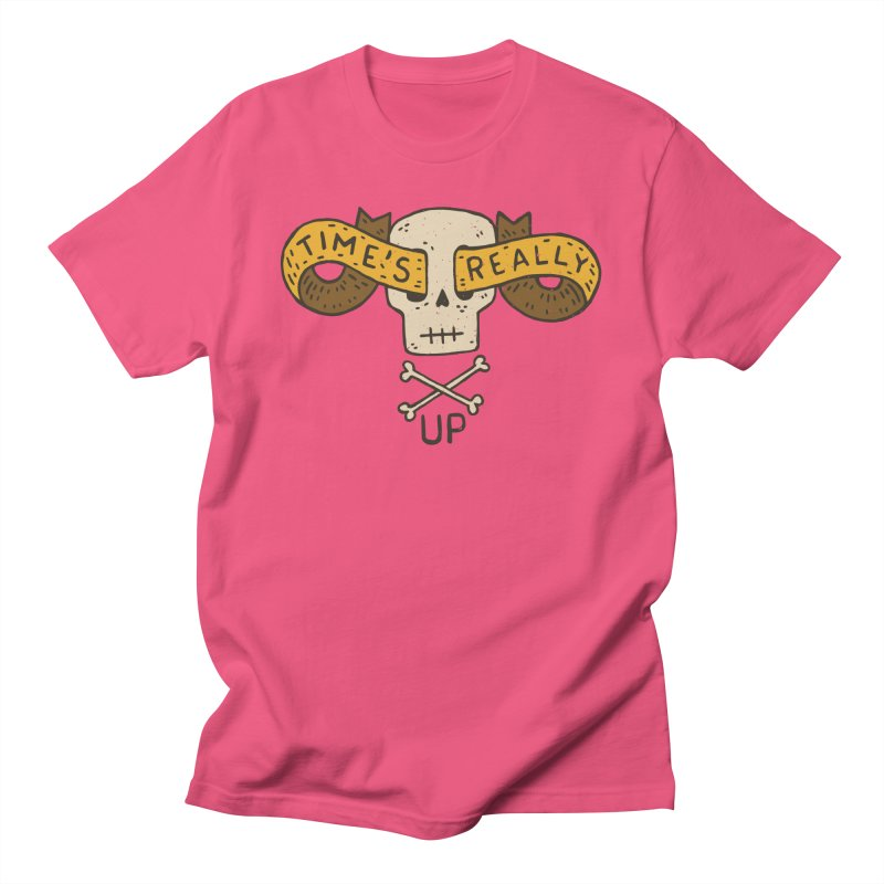 Time's Really Up Women's Unisex T-Shirt by Rupertbeard