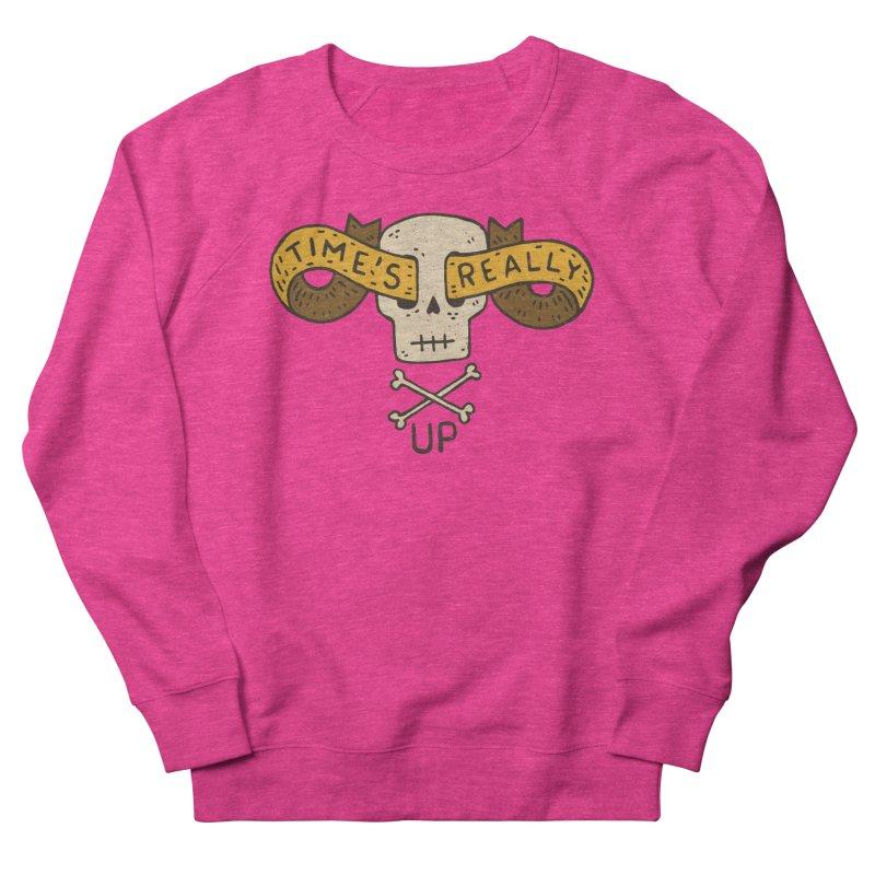 Time's Really Up Women's Sweatshirt by Rupertbeard
