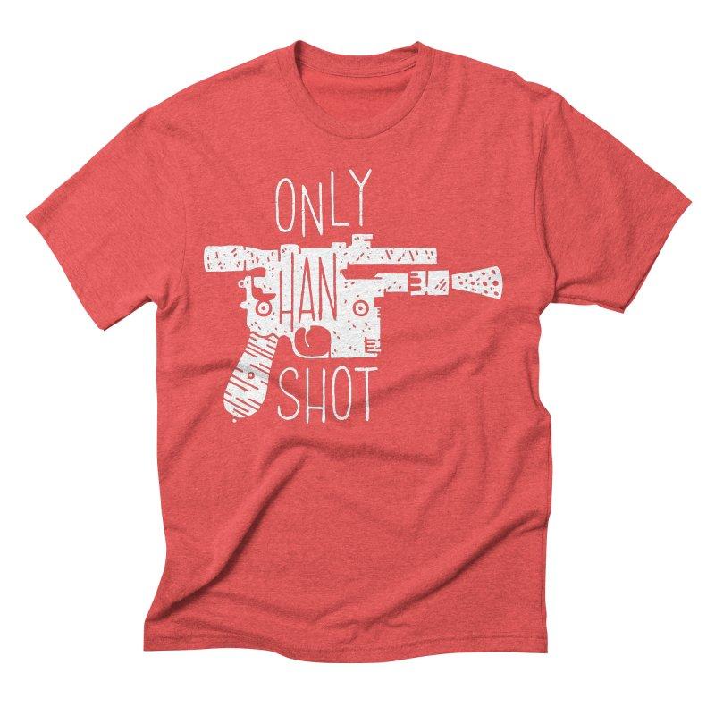 Only Han Shot Men's T-Shirt by Rupertbeard
