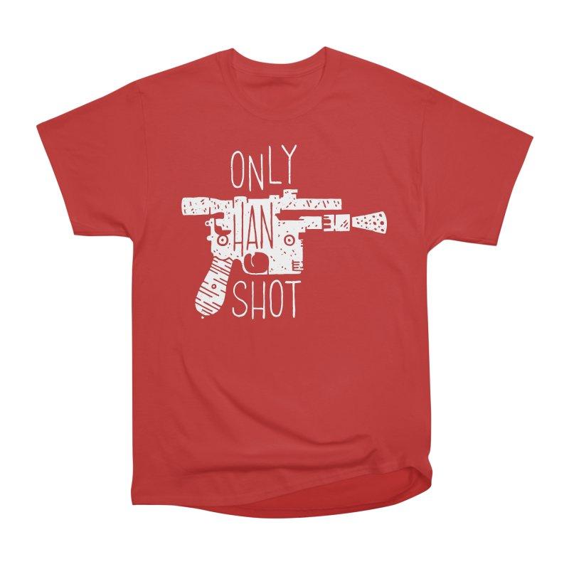 Only Han Shot Men's Classic T-Shirt by Rupertbeard