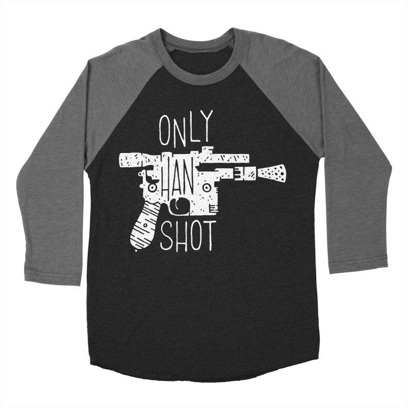 Only Han Shot Women's Baseball Triblend T-Shirt by Rupertbeard