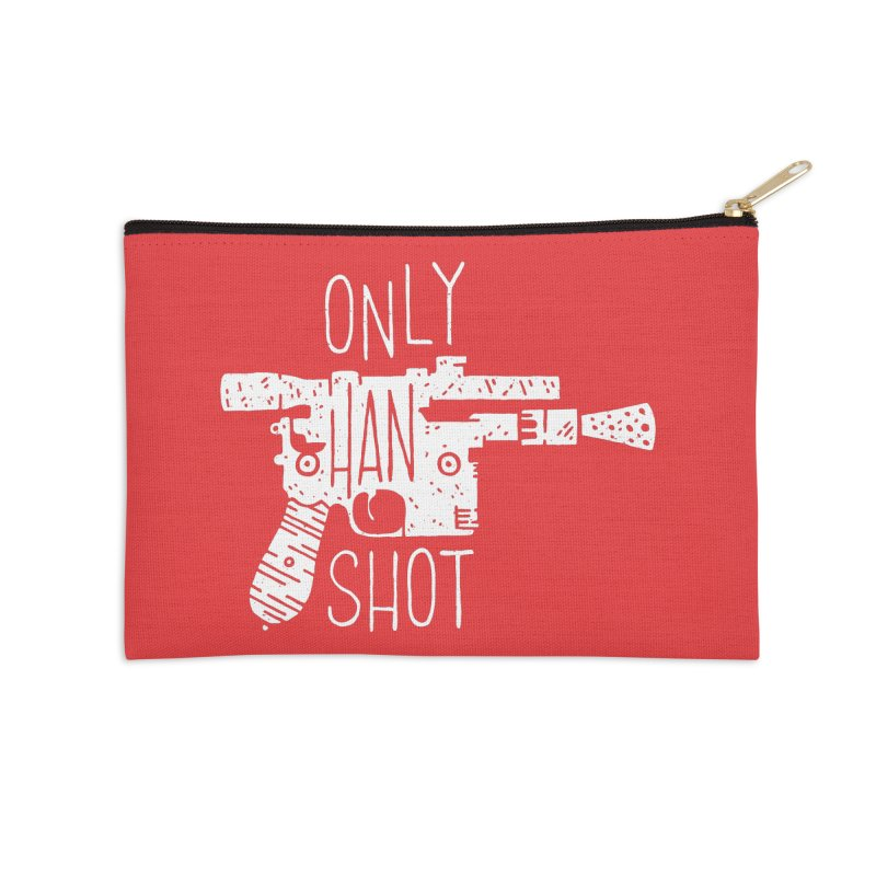 Only Han Shot Accessories Zip Pouch by Rupertbeard