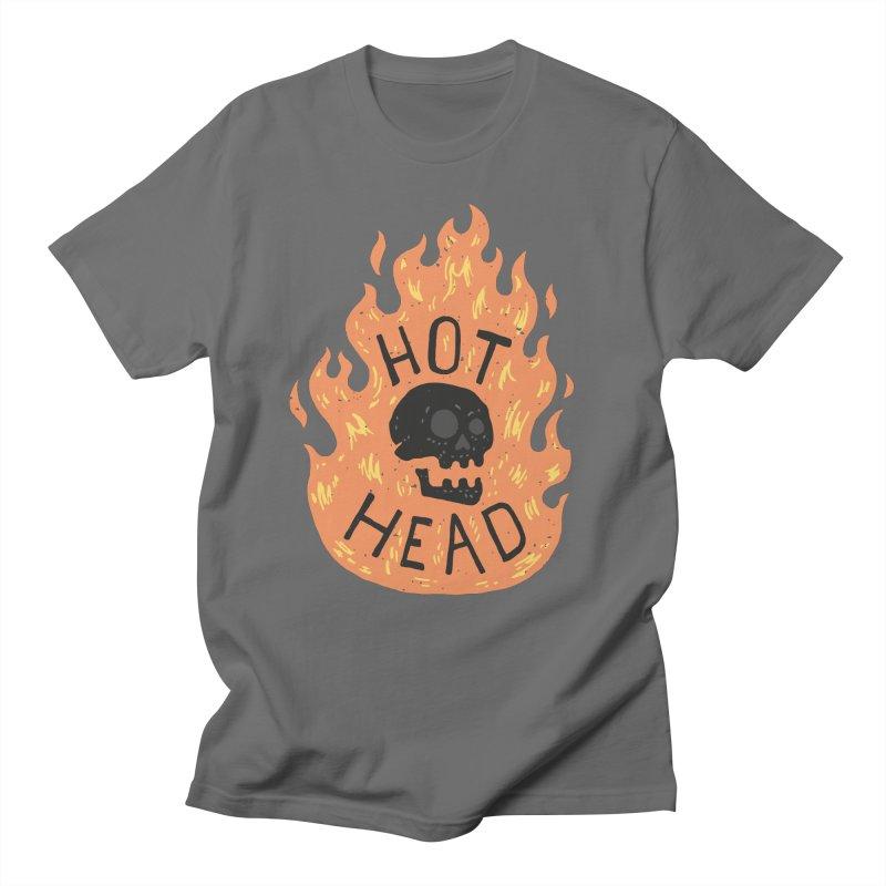 Hot Head Women's Unisex T-Shirt by Rupertbeard