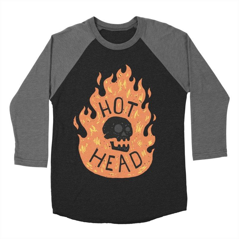 Hot Head Women's Baseball Triblend T-Shirt by Rupertbeard
