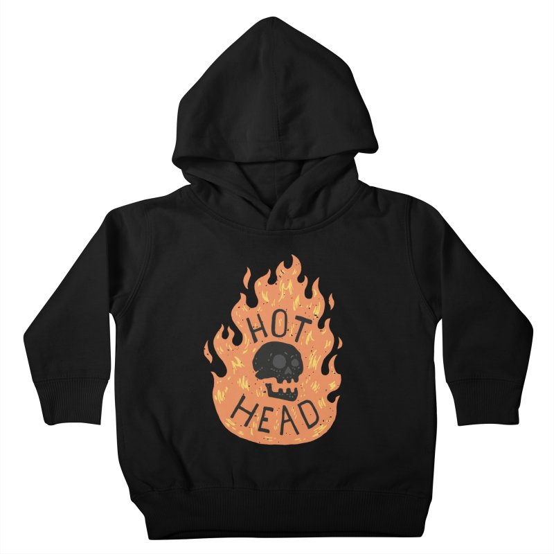 Hot Head Kids Toddler Pullover Hoody by Rupertbeard