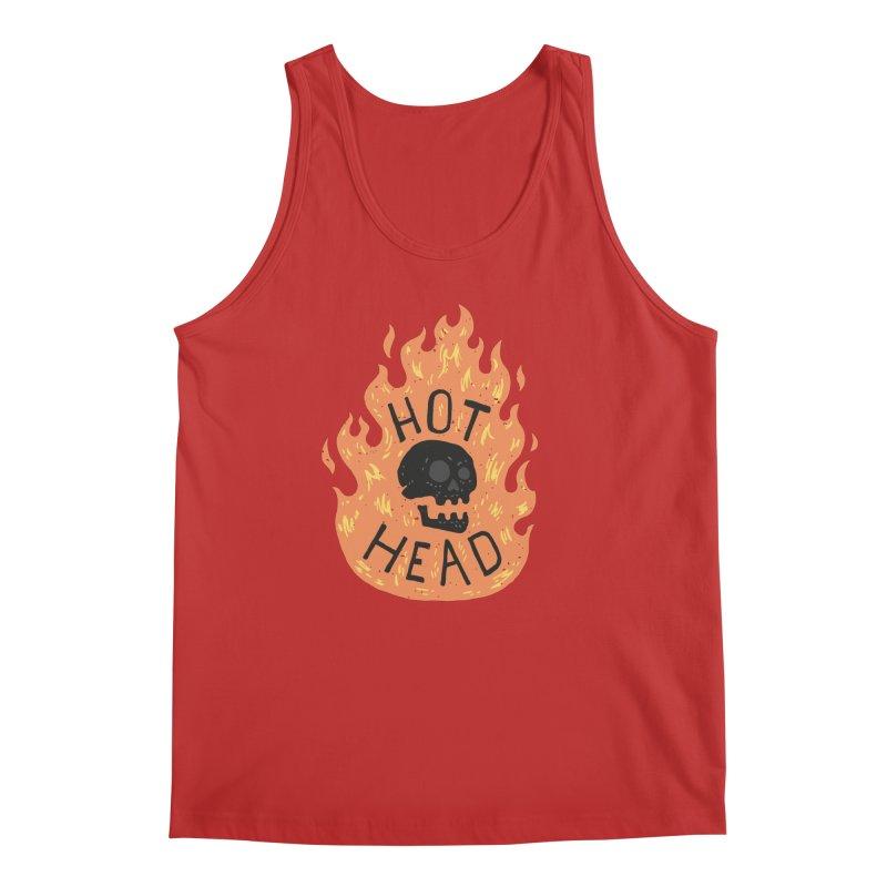 Hot Head Men's Tank by Rupertbeard