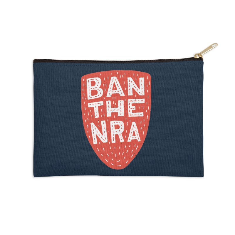 Ban The NRA Accessories Zip Pouch by Rupertbeard