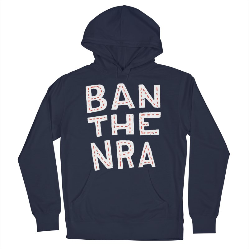 Ban The NRA Too Men's Pullover Hoody by Rupertbeard