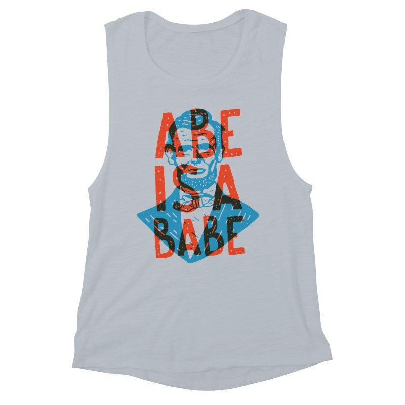 Abe Is A Babe Women's Tank by Rupertbeard