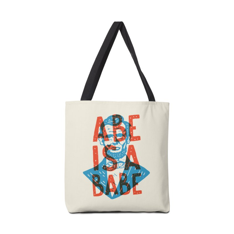 Abe Is A Babe Accessories Bag by Rupertbeard