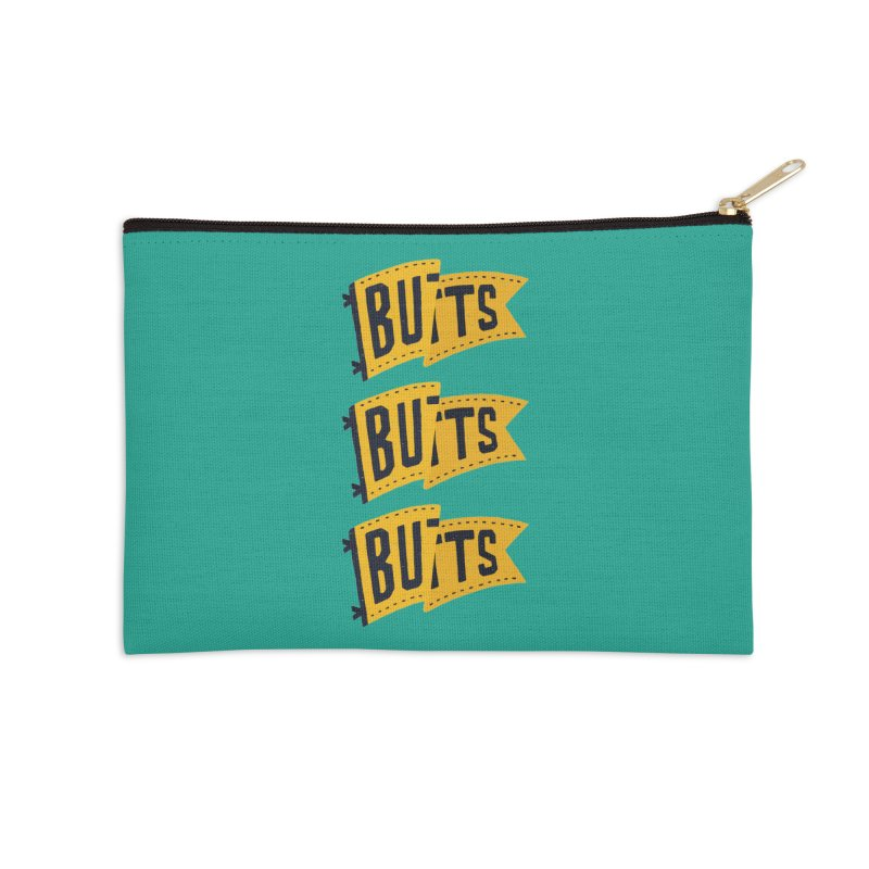 Butts, Butts, Butts Accessories Zip Pouch by Rupertbeard