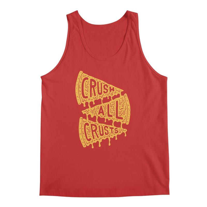 Crush All Crusts Men's Tank by Rupertbeard