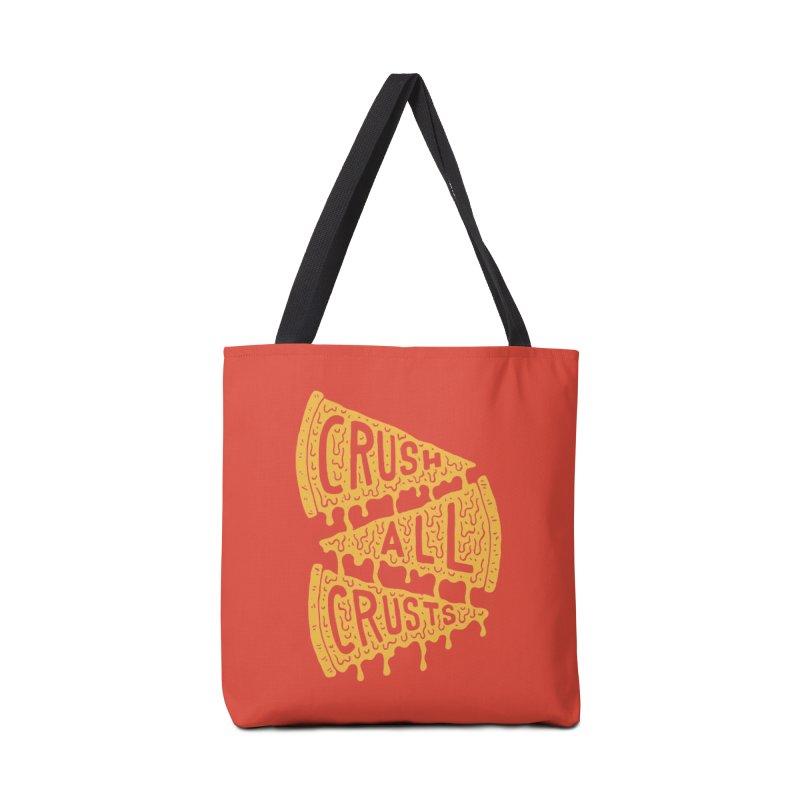 Crush All Crusts Accessories Bag by Rupertbeard