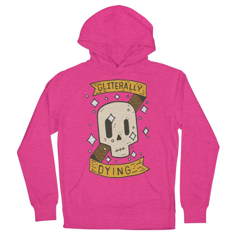 Gliterally Dying Men's Pullover Hoody by Rupertbeard