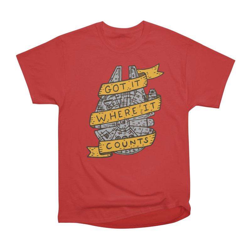 Got It Where It Counts Men's Classic T-Shirt by Rupertbeard