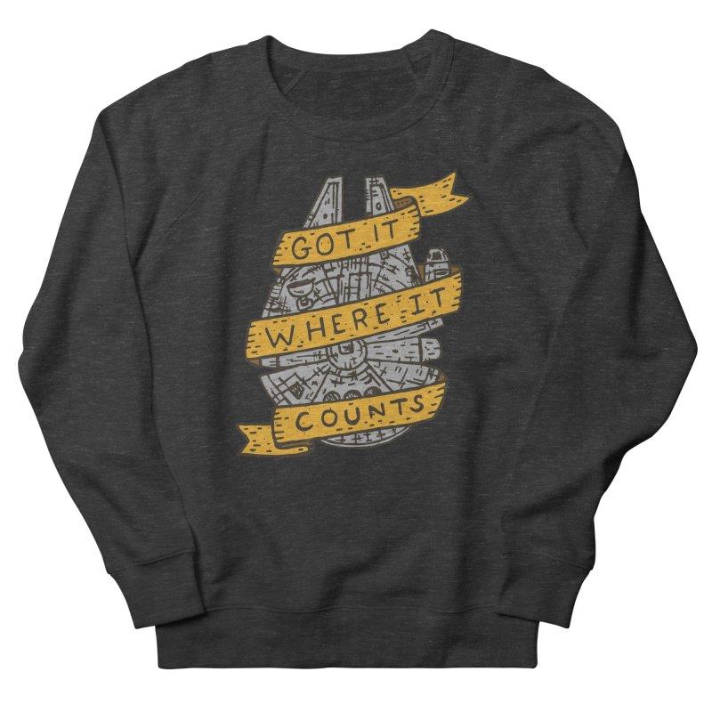 Got It Where It Counts Women's Sweatshirt by Rupertbeard