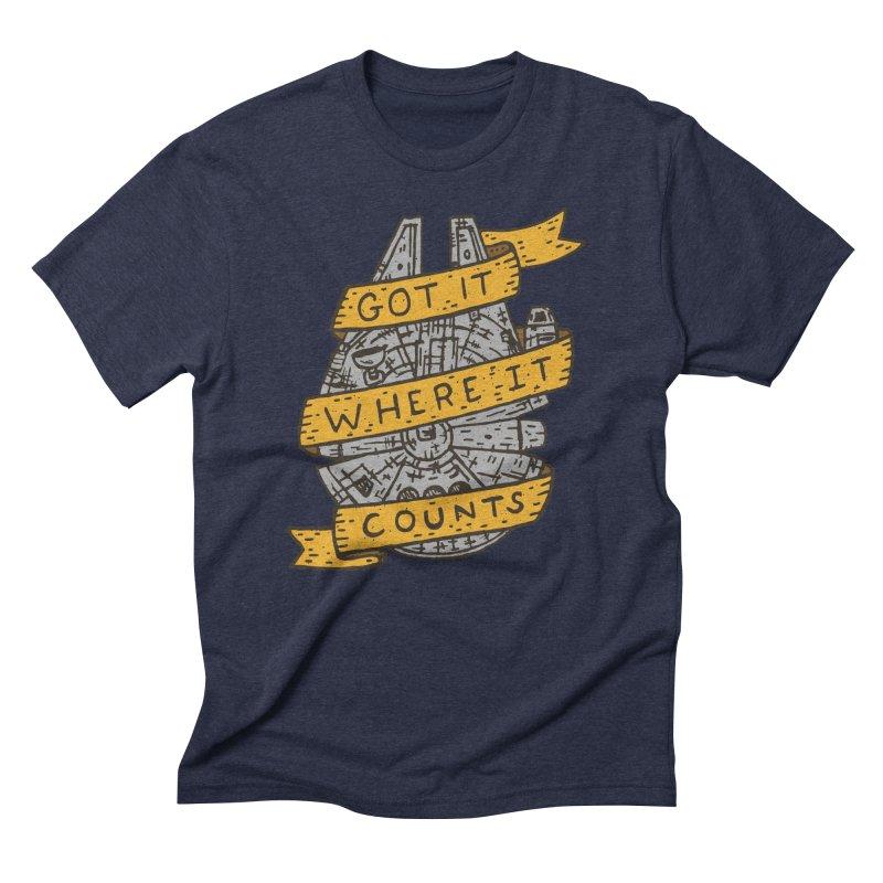 Got It Where It Counts Men's Triblend T-Shirt by Rupertbeard