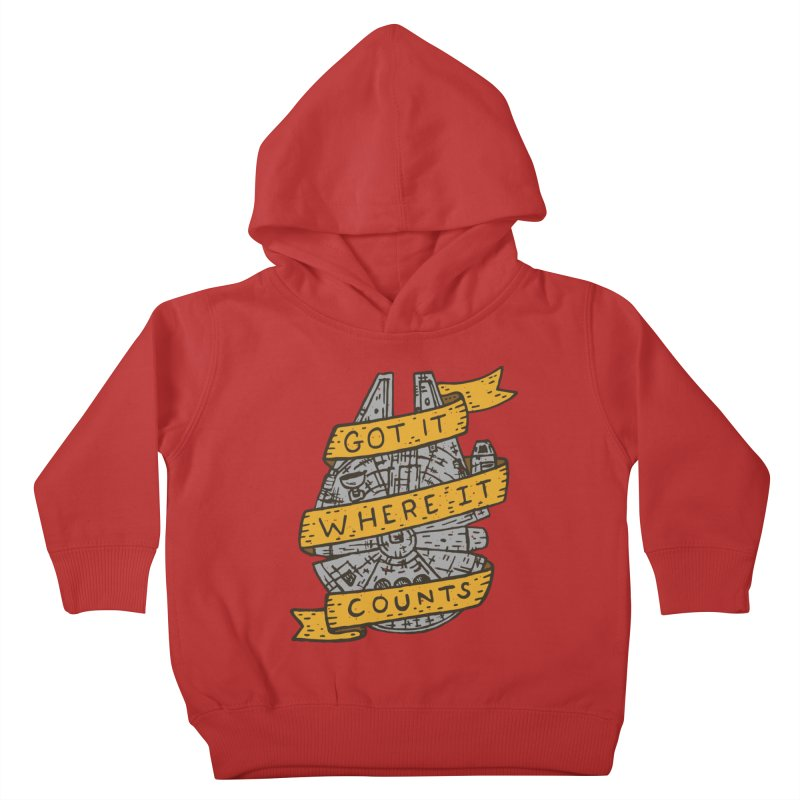 Got It Where It Counts Kids Toddler Pullover Hoody by Rupertbeard