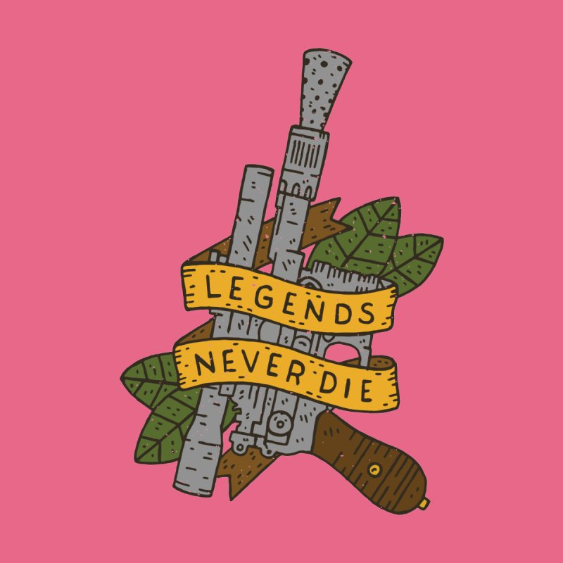 Legends Never Die None  by Rupertbeard