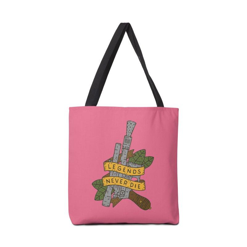 Legends Never Die Accessories Bag by Rupertbeard