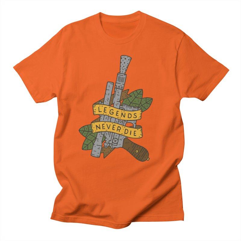Legends Never Die Men's T-Shirt by Rupertbeard