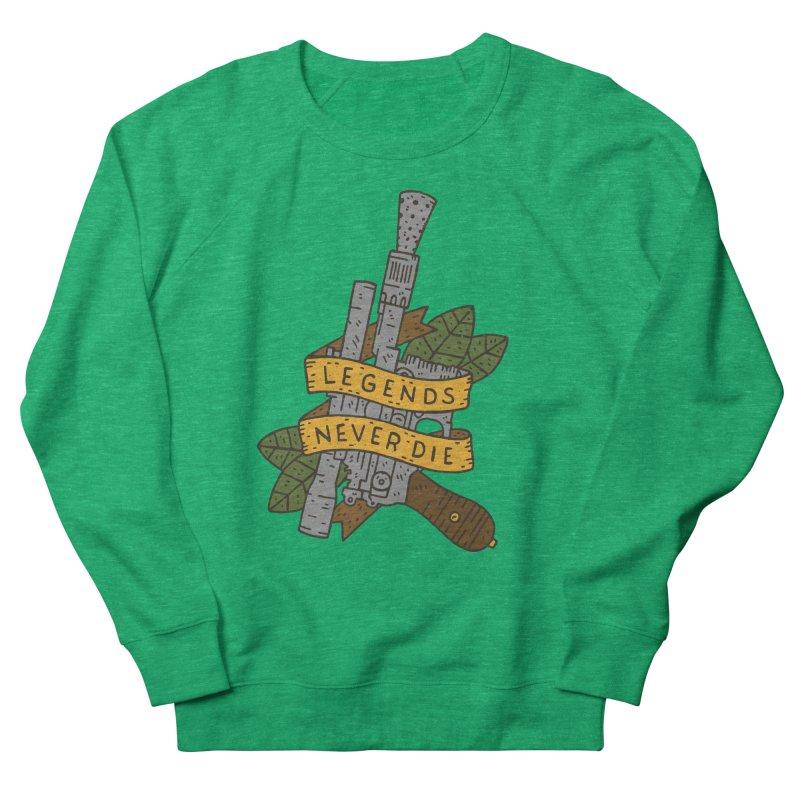Legends Never Die Women's Sweatshirt by Rupertbeard