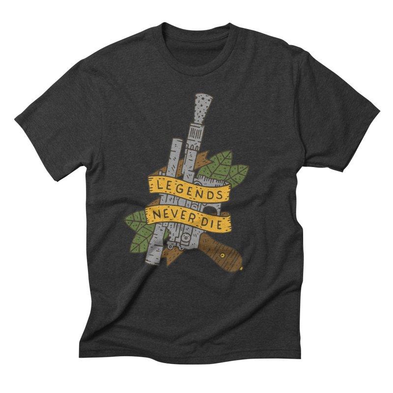 Legends Never Die Men's Triblend T-Shirt by Rupertbeard
