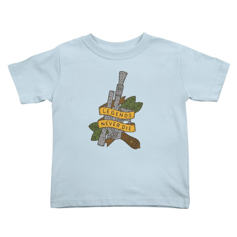 Legends Never Die Kids Toddler T-Shirt by Rupertbeard