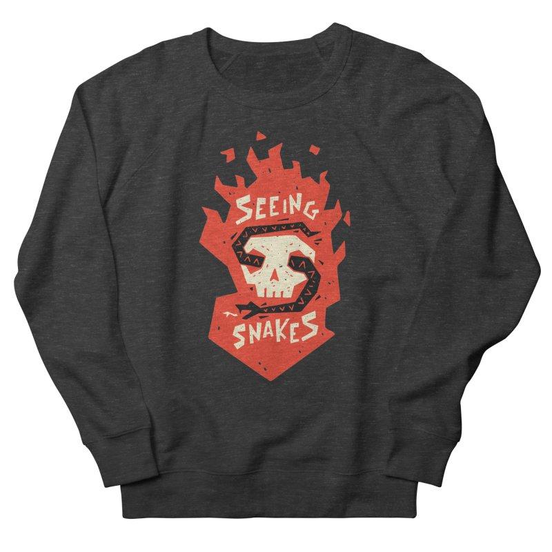 Seeing Snakes Women's Sweatshirt by Rupertbeard