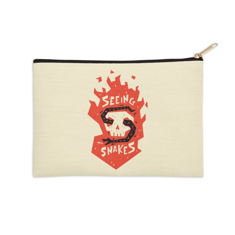 Seeing Snakes Accessories Zip Pouch by Rupertbeard