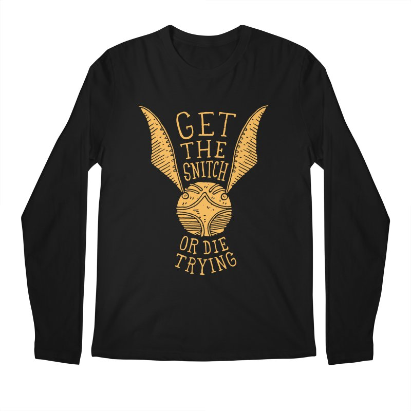 Get The Snitch Or Die Trying Men's Longsleeve T-Shirt by Rupertbeard