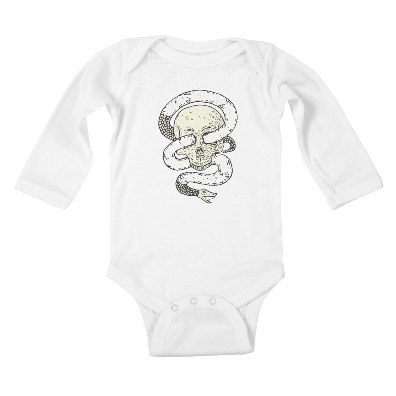 I'll Show You Mine If You Show Me Yours Kids Baby Longsleeve Bodysuit by Rupertbeard