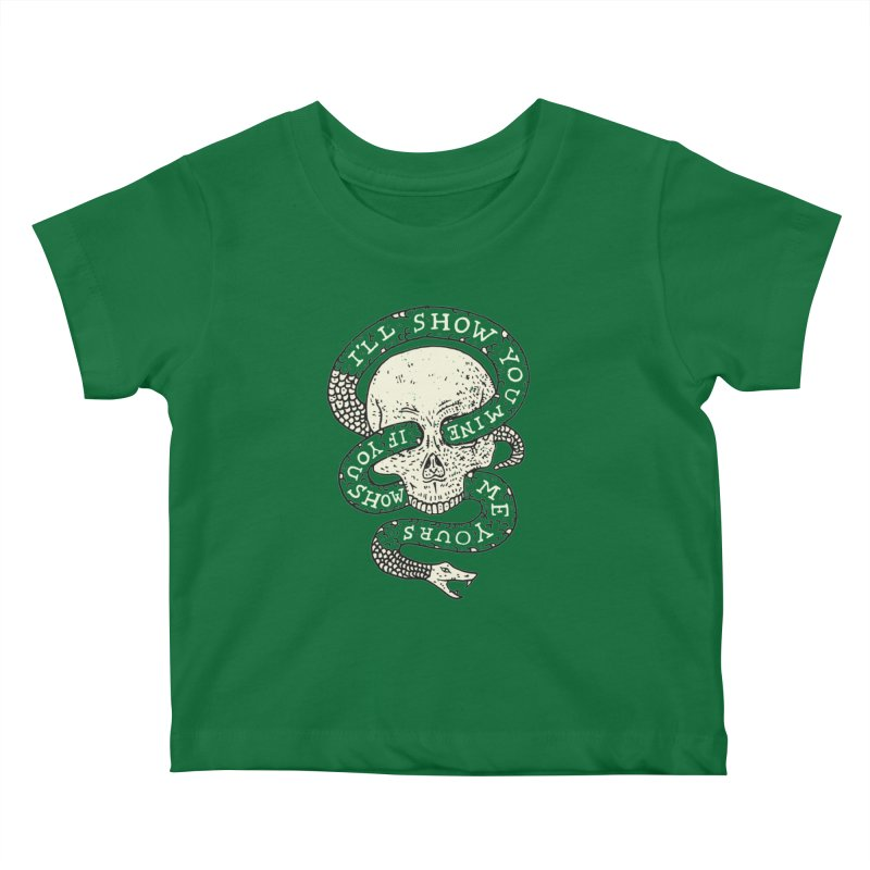 I'll Show You Mine If You Show Me Yours Kids Baby T-Shirt by Rupertbeard