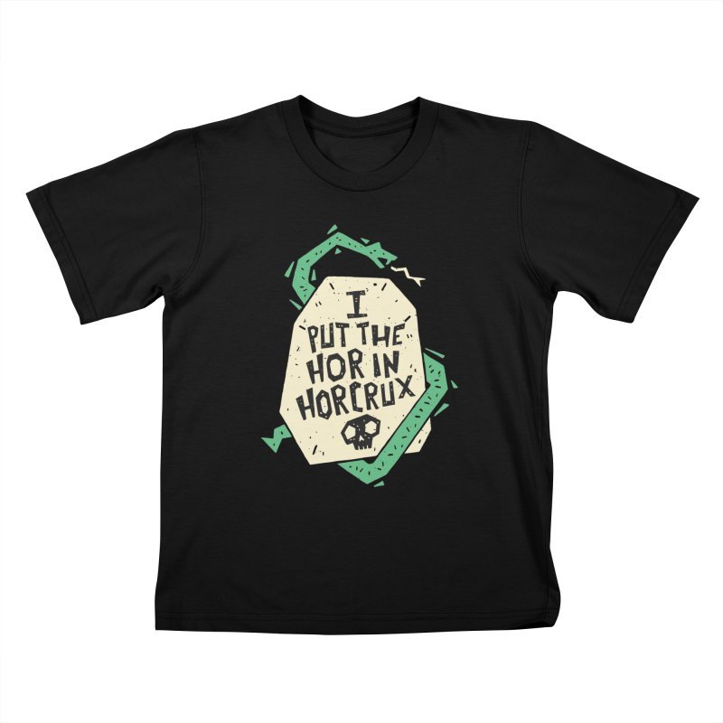 I Put The Hor In Horcrux Kids T-Shirt by Rupertbeard