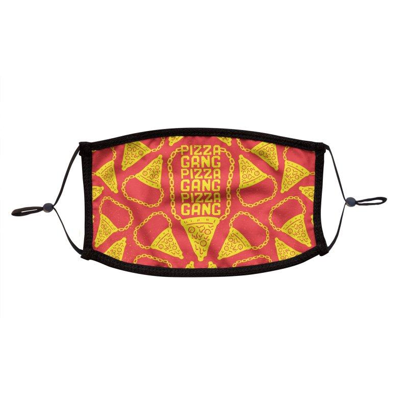 Pizza Gang Pizza Gang Pizza Gang Accessories Face Mask by Rupertbeard
